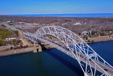 Sagamore Bridge Inspection – U.S. Army Corps of Engineers, New England District