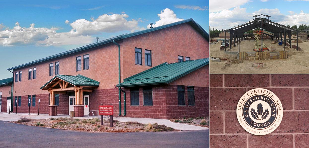 South Rim Maintenance and Warehouse Facilities, Grand Canyon National Park