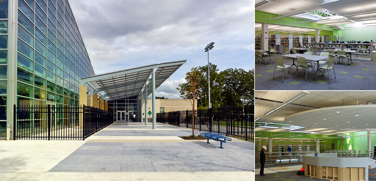 Deanwood Community Center and Library – DC Department of Parks and Recreation