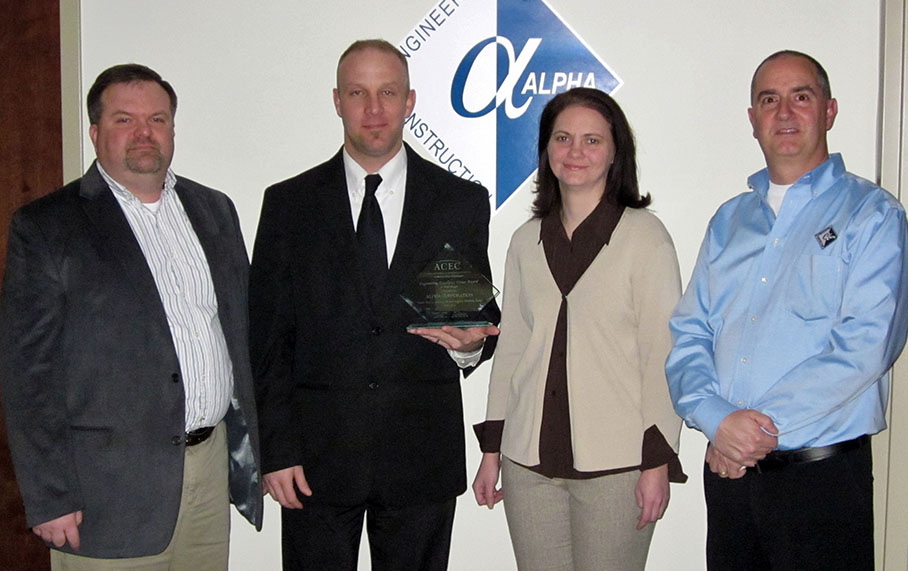 Alpha Corporation Receives ACEC/MW Engineering Excellence Award