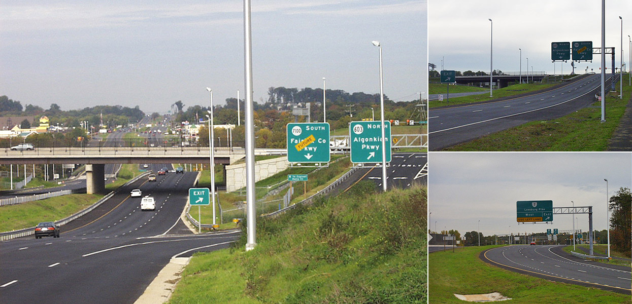 Fairfax County Parkway Interchange at Route 7 - Virginia Department of Transportation (VDOT)