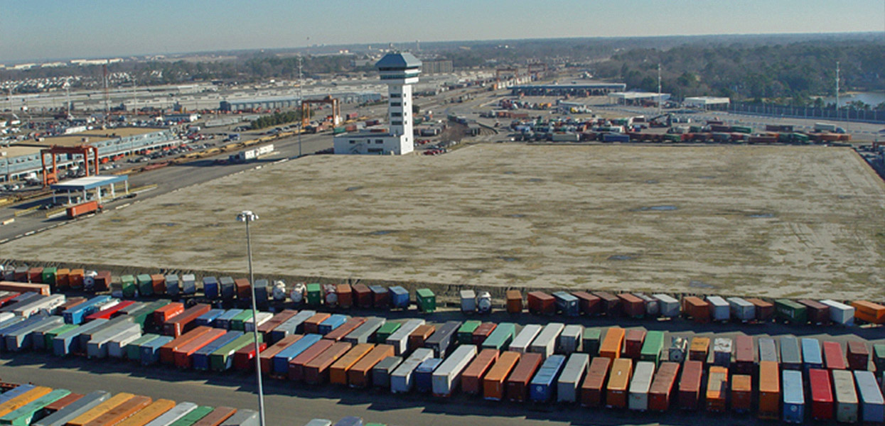 Backlands Project, Norfolk International Terminal - Virginia Port Authority