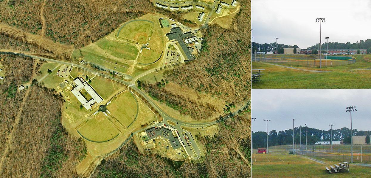 Quantico Athletic Fields - U.S. Marine Corps