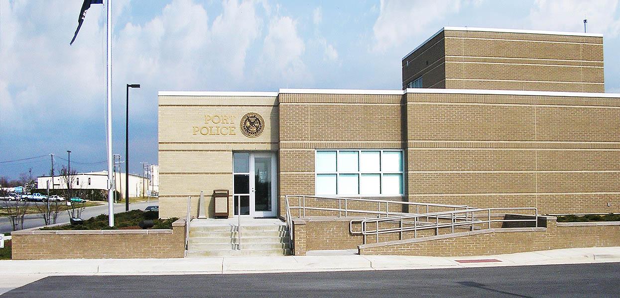 Identification/Security Building, Portsmouth Marine Terminal - Virginia Port Authority
