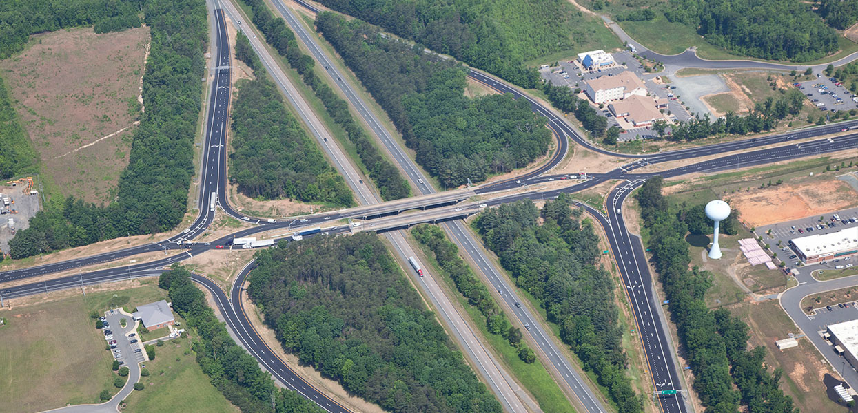 Zion Crossroads Diverging Diamond Interchange Design-Build (I-64 @ US 15) – Virginia Department of Transportation (VDOT)