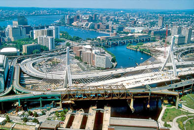 I-90/I-93 Central Artery Project, Charles River Crossing – Massachusetts Highway Department