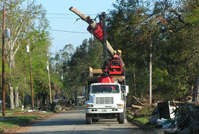 Hurricanes Katrina and Rita Cleanup Support – U.S. Army Corps of Engineers, Memphis District