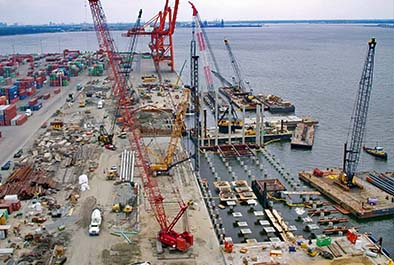 South Wharf Reconstruction, Norfolk International Terminal – Virginia Port Authority