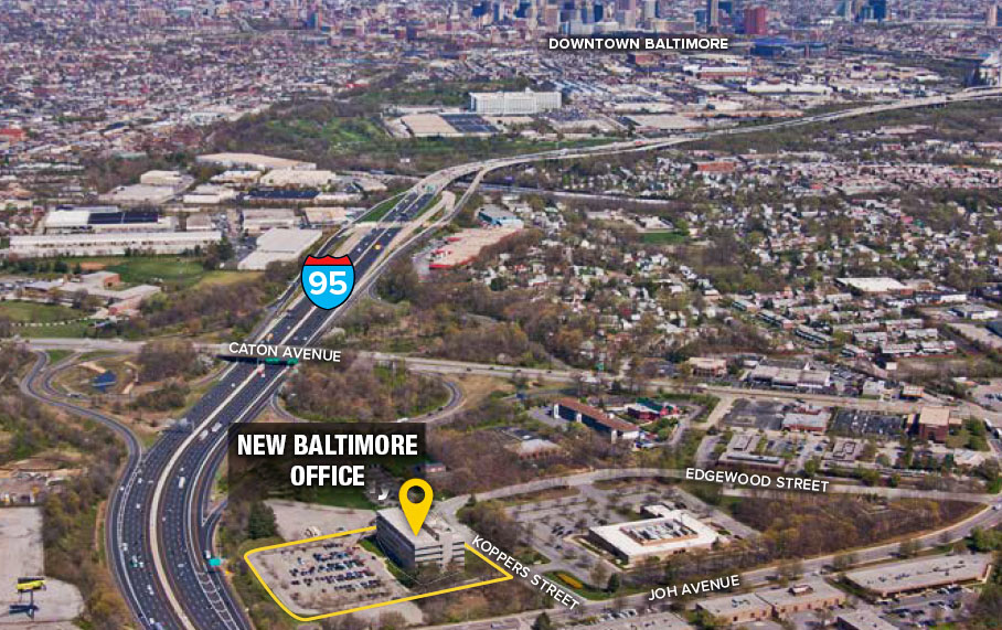 Our Baltimore Office has Moved