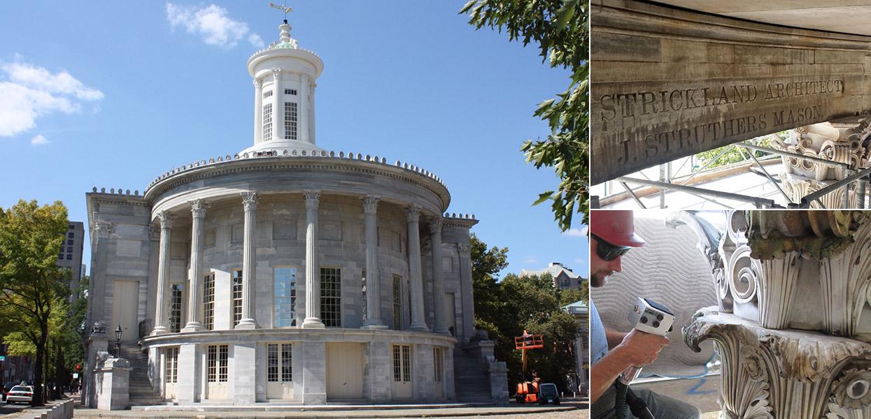Rehabilitation of Merchant's Exchange Building – National Park Service