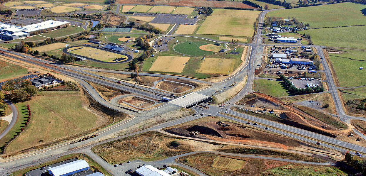 Route 29 and Route 666 Interchange, Grade Separated Interchange – Virginia Department of Transportation
