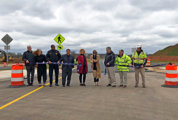 Tuesday, April 17, 2018: Alpha team members were honored to support the ribbon-cutting event for the final segment of Battlefield Parkway in Leesburg, Virginia