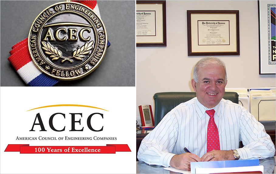 Alpha Corporation proudly announces that our president, Philios Angelides, has been elected as a Fellow in the American Council of Engineering Companies (ACEC)