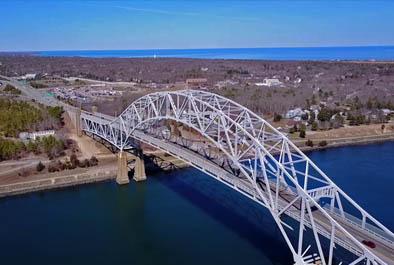 Sagamore Bridge Inspection – U.S. Army Corps of Engineers, New England District