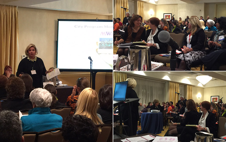 Alpha Corporation CEO Kate Lindsey Addresses Women Mayors at 83rd Winter Meeting of U.S. Conference of Mayors
