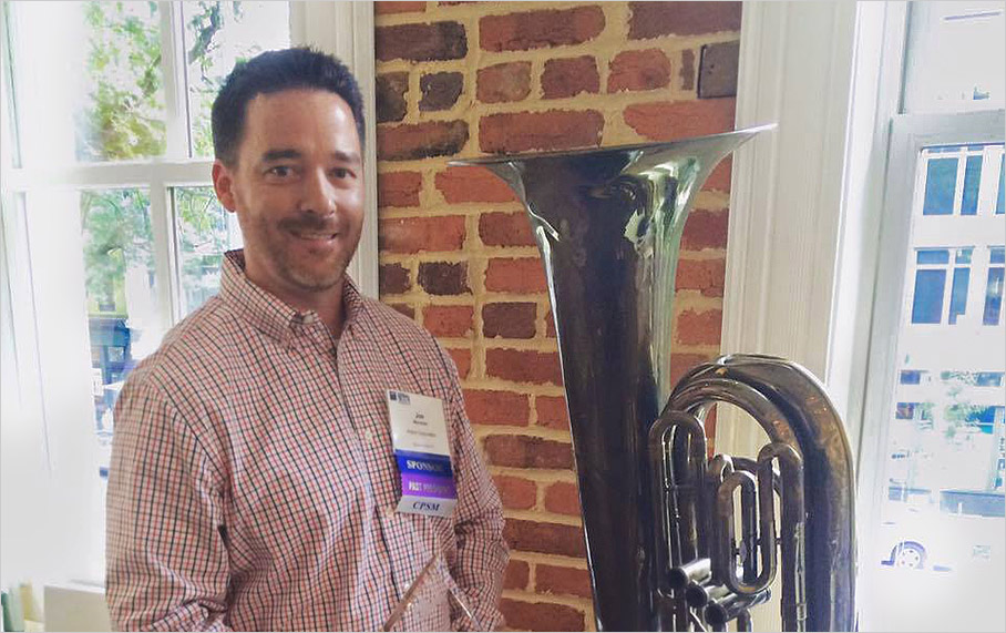 "Alpha Corporation Business Development Manager Receives SMPS DC Chapter ""Golden Tuba"" Award"