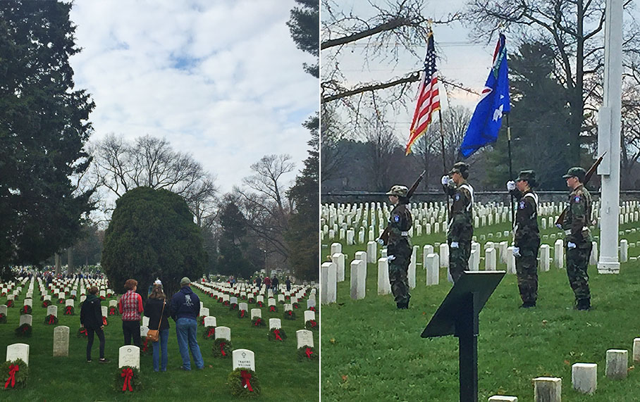 Alpha Corporation Participates in Wreaths Across America Program at Arlington National Cemetery and Winchester National Cemetery