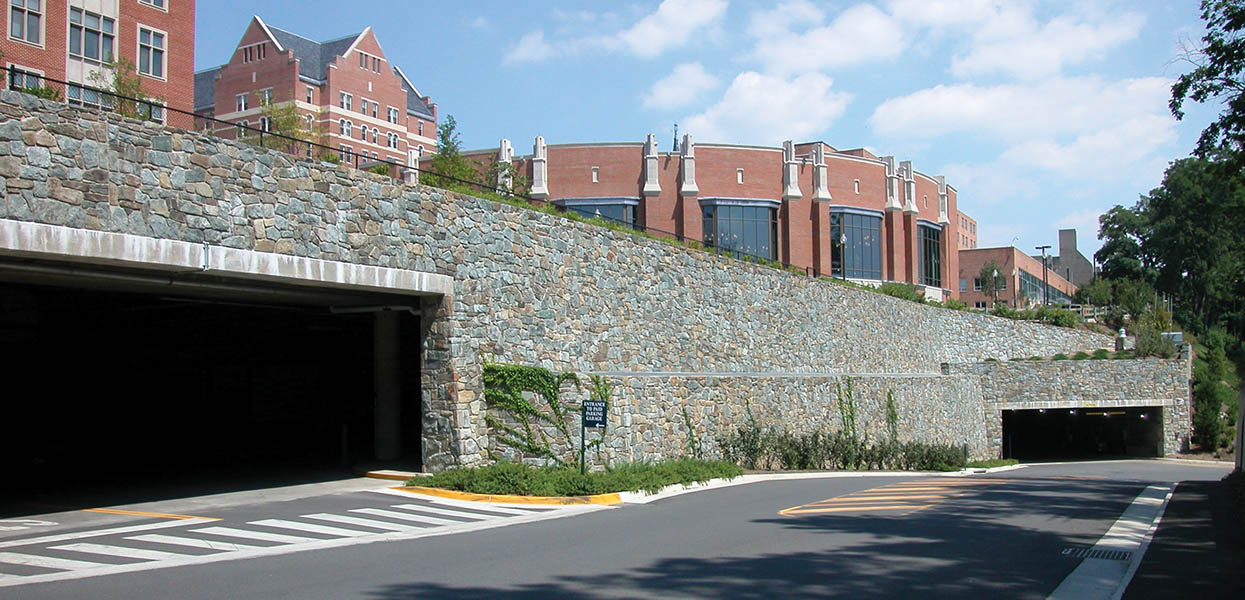 Georgetown University Southwest Quadrangle - Parking Garage