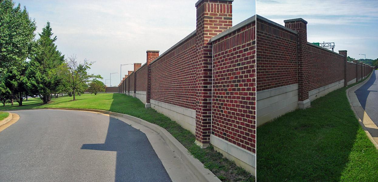 North Perimeter Wall - Bolling Air Force Base