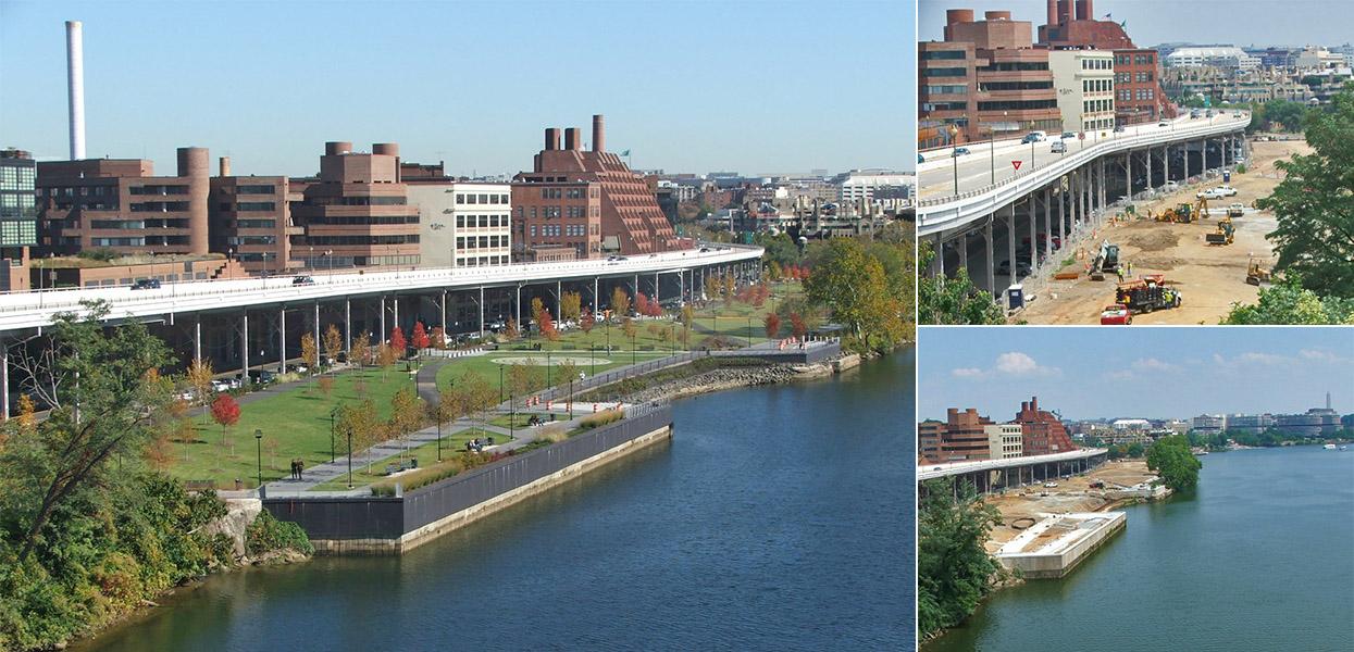 Georgetown Waterfront Park, Phase II, Rock Creek Park