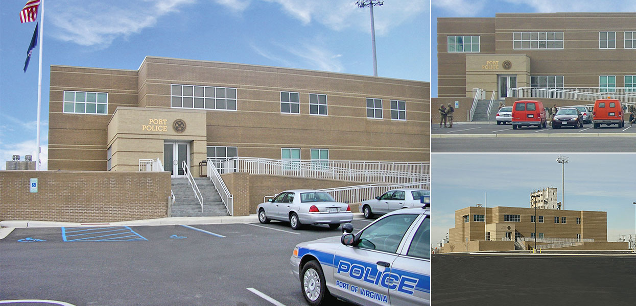 Police Headquarters, Norfolk International Terminal - Virginia Port Authority