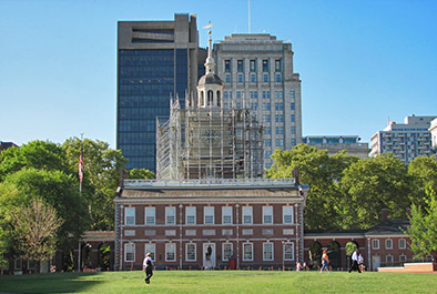 Rehabilitation of Independence Hall Tower – National Park Service