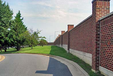 North Perimeter Wall – Joint Base Anacostia-Bolling