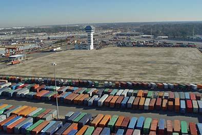Backlands Project, Norfolk International Terminal – Virginia Port Authority