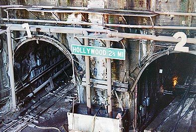 Hollywood Tunnel, Los Angeles Metro System – Los Angeles County Transit Commission