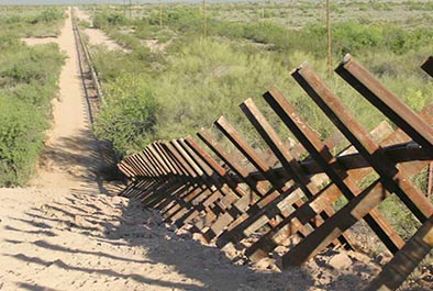 Vehicle Barrier Fence at Organ Pipe Cactus National Monument – National Park Service