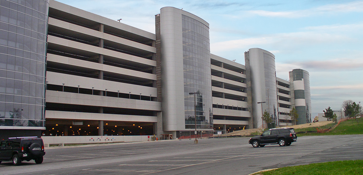 Elm Road Parking Garage – BWI Airport/Maryland Aviation Administration
