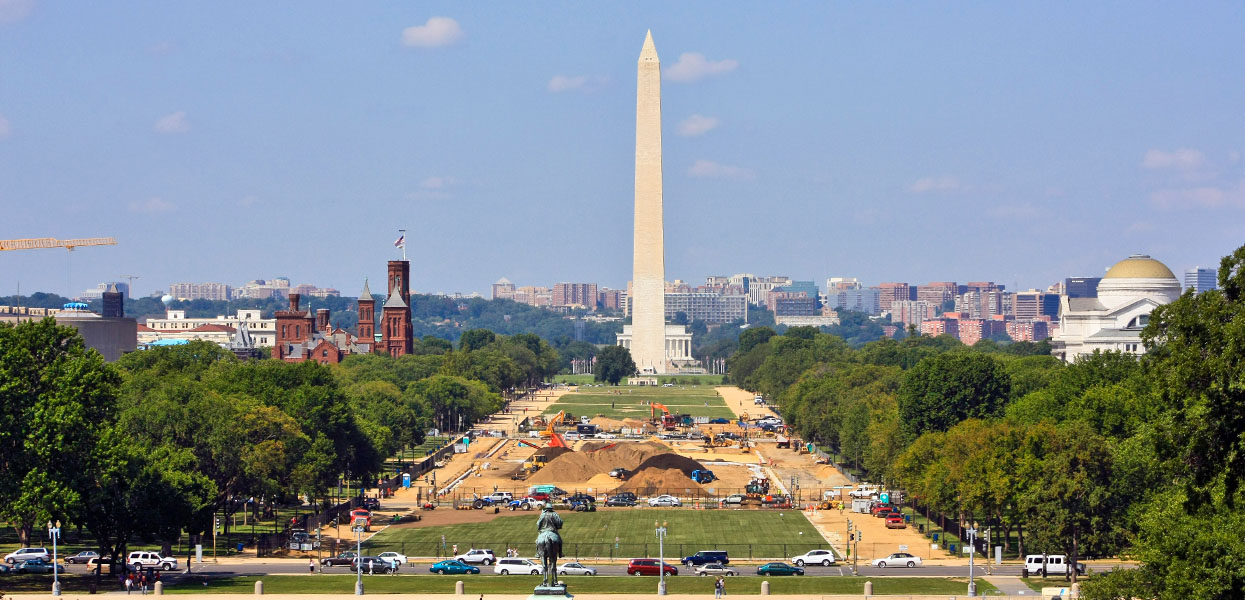 Reconstruct Turf & Soil on the National Mall, Washington, DC
