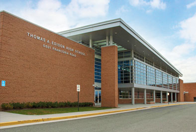 Thomas A. Edison High School Renovation – Fairfax County Public Schools