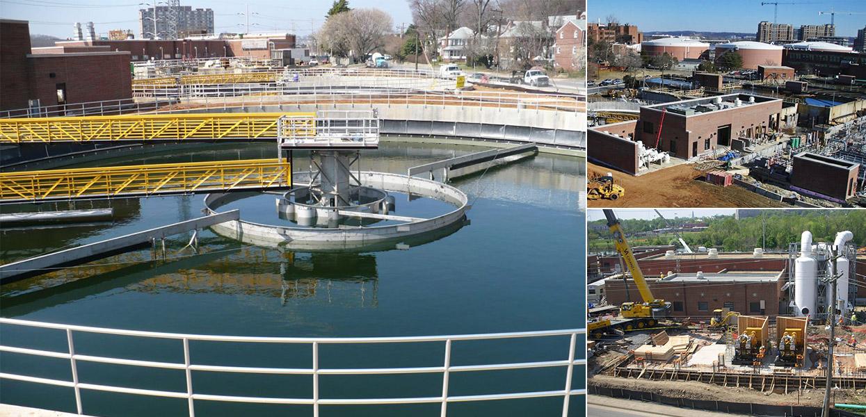Water Pollution Control Plant Renovation – Arlington County