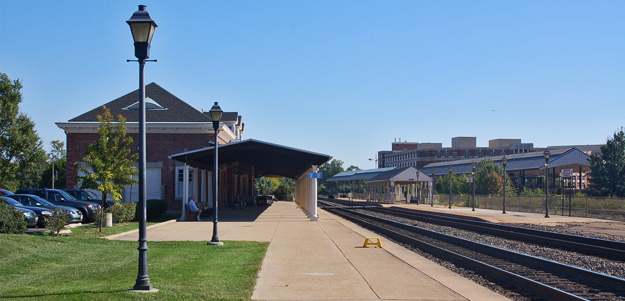 King Street Commuter Rail Station – Northern Virginia Transportation Commission