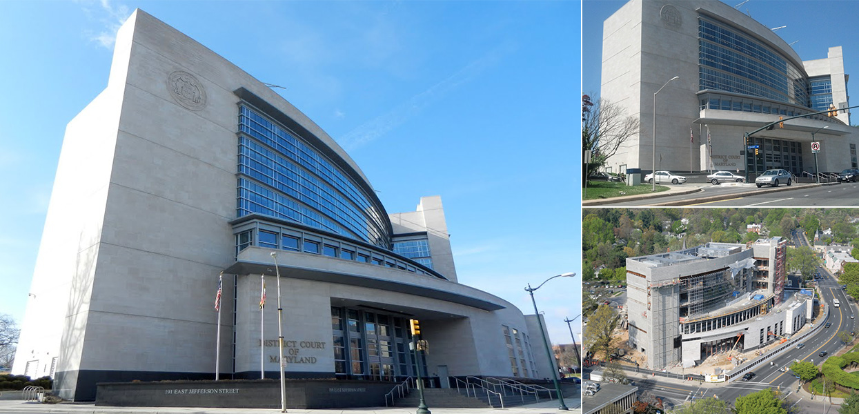 Rockville District Court Building – Maryland Department of General Services