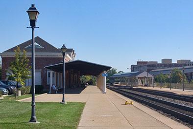 King Street Commuter Rail Station – Virginia Railway Express