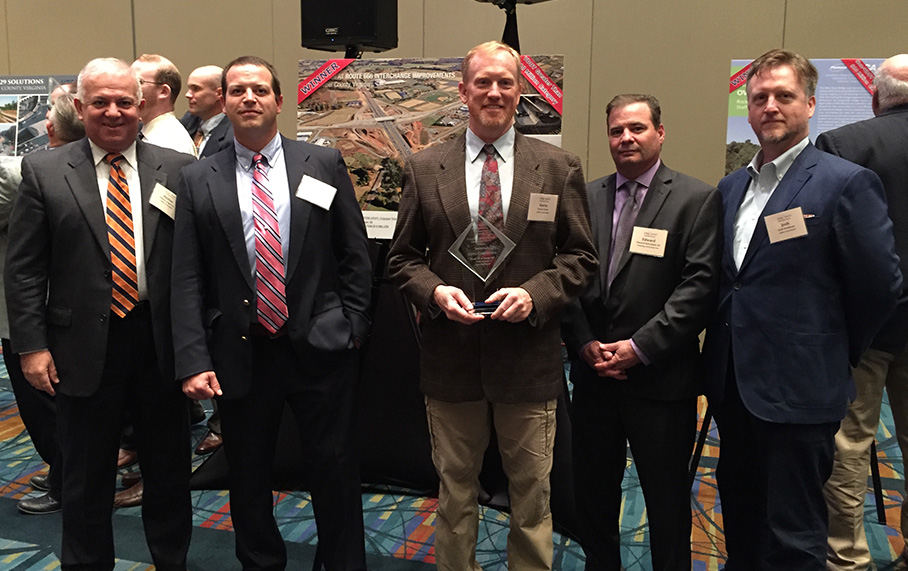 Alpha Wins 2017 VTCA Transportation Engineering Award