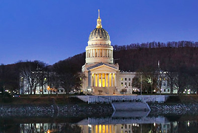 West Virginia State Capitol Dome – West Virginia General Services Division