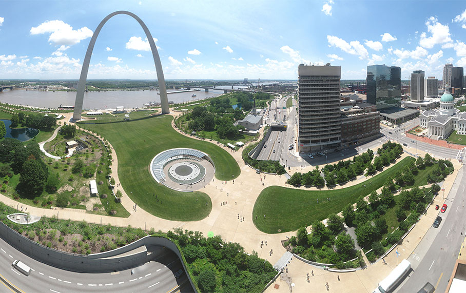 Alpha Corporation Receives ACEC/MW Non-Design Grand Award for Gateway Arch National Park