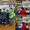 Sara Power Represents Alpha at Elementary Career Day