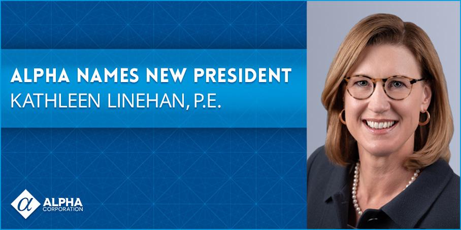 Alpha Names New President - Kathleen Linehan, P.E.
