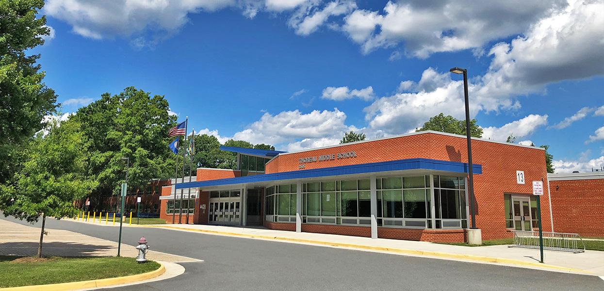Thoreau Middle School Renovation and Addition, Fairfax County Public Schools, Vienna, VA