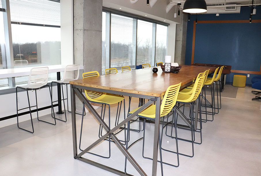 We've Moved! Alpha Corporation's New Office Space in Dulles, VA - Kitchen Area