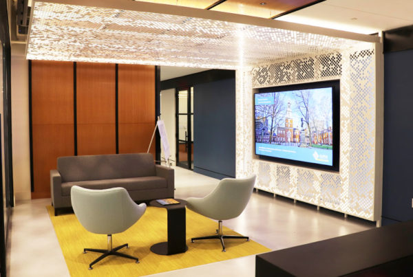 We've Moved! Alpha Corporation's New Office Space in Dulles, VA - Lobby